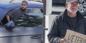 Kanye West ndalon veturën e tij 200 mijë euroshe për të ndihmuar një të pastrehë