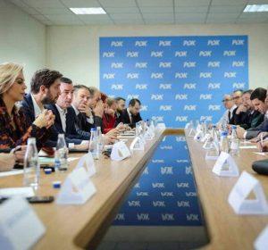 """PDK: Gjykata Kushtetuese mbrojti rendin kushtetues nga 'puçi qeveritar"""" i Kryeministrit të shkarkuar Kurti"""