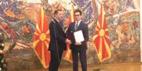 Spasovski merr mandatin nga Pendarovski, sot deri në mesnatë votohet qeveria teknike