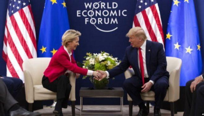 Trump: Jam optimist për bisedimet tregtare ndërmjet Shteteve të Bashkuara dhe Bashkimit Evropian