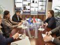 Haxhiu flet me ambasadoren e Kroacisë për prioritetet e Ministrisë së Drejtësisë gjatë këtij mandati