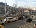 Aksident zingjiror në rrugën Luan Haradinaj