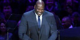 O'Neal nxit të qeshura në ceremoninë Kobet