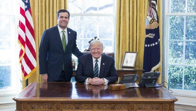 Trump e liron Grenellin, zgjedh zëvendësuesin e tij në krye të inteligjencës amerikane