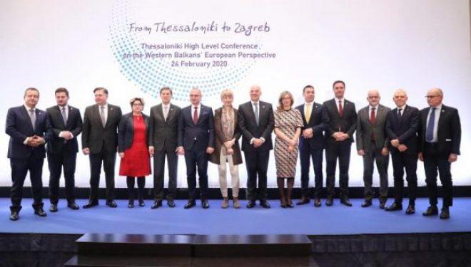 Konjufca në Konferencë me Ivica Daçiqin