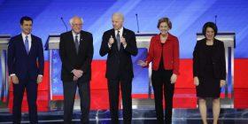 Përplasen në debat televiziv  kandidatët demokratë për president të ShBA-së