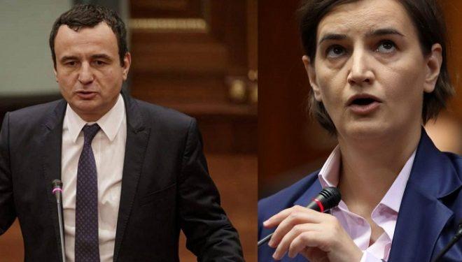 Brnabiq: Nuk e kuptoj pse Kurti nuk e konsideron prioritet kryesor dialogun me Serbinë
