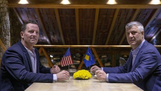 Thaçi takon sonte ambasadorin Grenell, flasin për dialogun Kosovë-Serbi