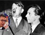 E krahasoi Vuçiqin me Goebbelsin, Serbia i nis notë proteste Shqipërisë për Cakajn