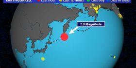 Tërmeti 7.6 në Rusi, ja si u përjetua nga banorët dridhja e tokës nën këmbët e tyre (Foto+Video)