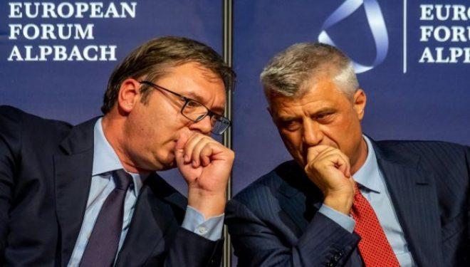 Ish-diplomatit amerikan, Byrnes: Thaçi e Vuçiq kanë përgatiur një marrëveshje të keqe për Kosovën