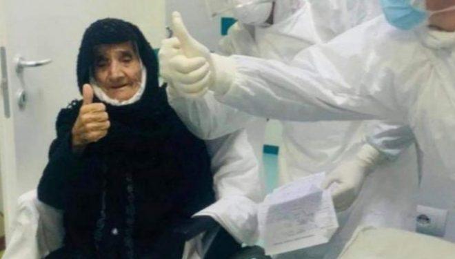 Edhe pse në moshë të shtyerë e fiton betejë me Koronavirus 80-vjecarja në Shqipëri