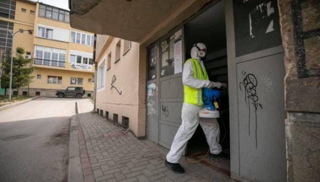 Dezinfektohen dhe pajisen me dezinfektues 750 hyrje në Prishtinë