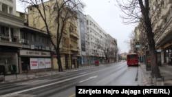 Shkupi në ditët e koronavirusit