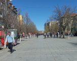 Prishtina si në ditë normale, qytetarët injorojnë thirrjet për masat mbrojtëse