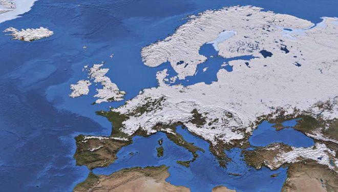 Dimri më i ngrohtë i regjistruar ndonjëherë Evropa