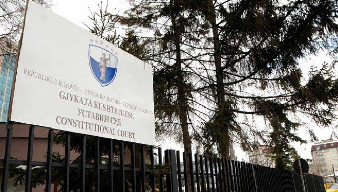 Kushtetuesja pezullon dekretin e Thaçit për qeverinë e re