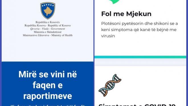 MSh lanson platformën on-line për Covid-19 Kosova.health