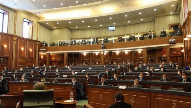 Vjosa Osmani, Haxhi Avdyli dhe Ardian Shala nga LDK votuan kundër rrëzimit të Qeverisë