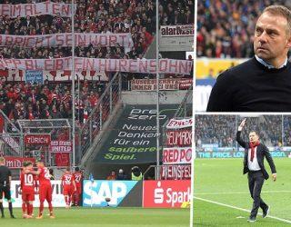 Futbollistët pa lëvizur në fushë, 15 minutat e protestës së pazakontë në Bundesliga