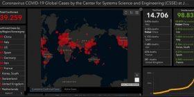 Situata deri tani nga koronavirusi! Gati 340 mijë të infektuar në të gjithë botën, rastet rriten në SHBA