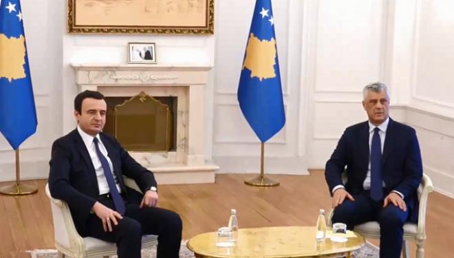 Fillon takimi i shumëpritur Thaçi-Kurti