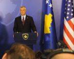 Thaçi falënderon SHBA-në për ndihmat rreth pandemisë COVID-19