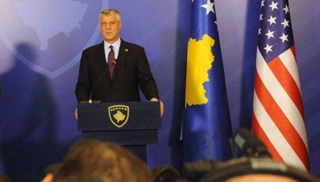 Thaçi mesazh të ashpër BE'së: S'e takoj Lajcakun nëse vjen me qëndrim mosnjohës ndaj Kosovës