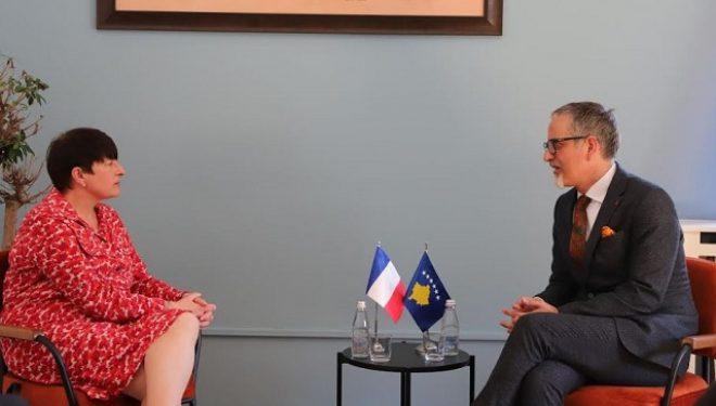 Ministri Vitia dhe Ambasadorja franceze flasin rreth masave kundër Covid-19