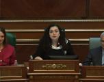 Vjosa Osmani: Për ndryshim të kufijve! Kosova është projekt i paprekshëm