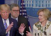 """""""Uh, oh""""/ Zyrtarja thotë se ka patur ethe, reagimi i Trump-it është i menjëhershëm! (VIDEO)"""
