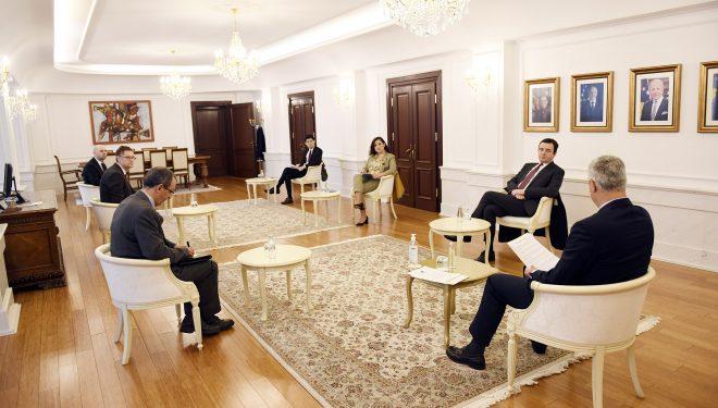 Kurti pas takimit me Thaçin: I theksova që pas mocionit të mosbesimit, duhet të shkohet në zgjedhje