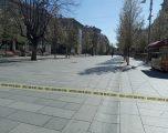 Kufizimi i levizjës në sheshet kryesore të Prishtinës