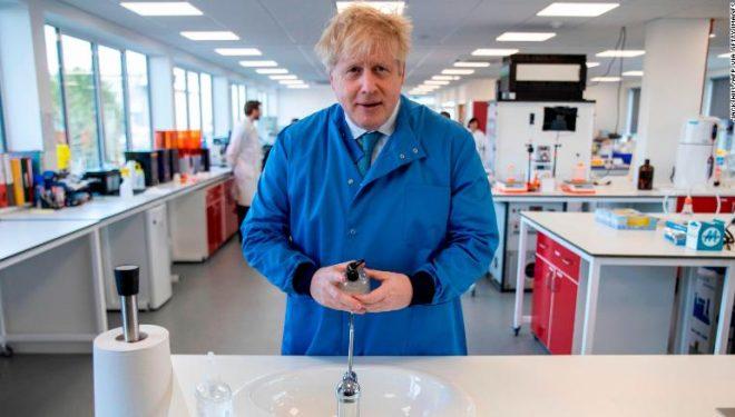 Shërohet Boris Johnson, doli negativ në testin e fundit të kryer