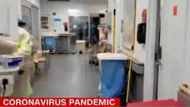 2 mjekë publikojnë videon, ja si duket në vijën e frontit të luftës me Covid-19