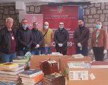 Rotary Club Gjilani i dorëzon Komunës donacion me libra e mjete shkollore