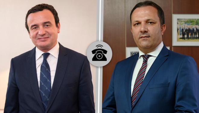 Kurti dhe Spasovski: Na duhet bashkëpunim konstruktiv në arritjen e qëllimeve të përbashkëta