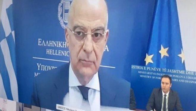 Konjufca në Forumin Ministror të Selanikut: Kërkoi heqjen e fusnotës
