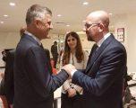 Në dialogun Kosovë- Serbi gjatë telefonatës Thaçi – Michel, Brukseli përmendet si aktor kryesor