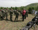 Ministri i Mbrojtjes Anton Quni vizitoi deminerët e FSK-së në  Babaj të Bokës