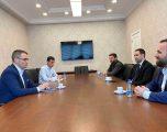 Guvernatori Mehmeti diskuton me përfaqësuesit e odave ekonomike për programin e rimëkëmbjes
