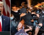 Donald Trump thotë se protestuesit do të përballen me qentë dhe armët nëse sulmojnë Shtëpinë e Bardhë