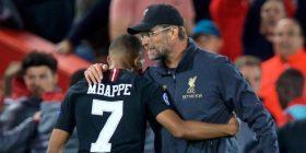 Mbappe lëvdon Reds dhe trajnerin Klopp