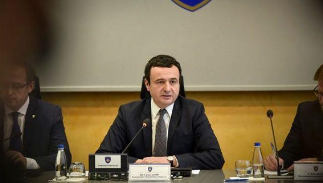 Për masat shtesë të reciprocitetit, Kurti: Serbia ka ndërruar qasje…, i kundërvihemi me masë reciproke