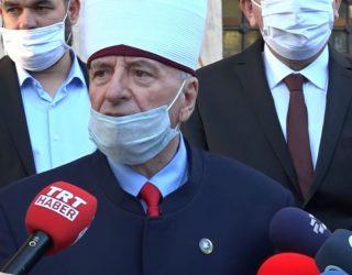 Sulejman Rexhepi shkarkohet nga pozita e kryetarit të Bashkësisë Islame në Maqedoni të Veriut