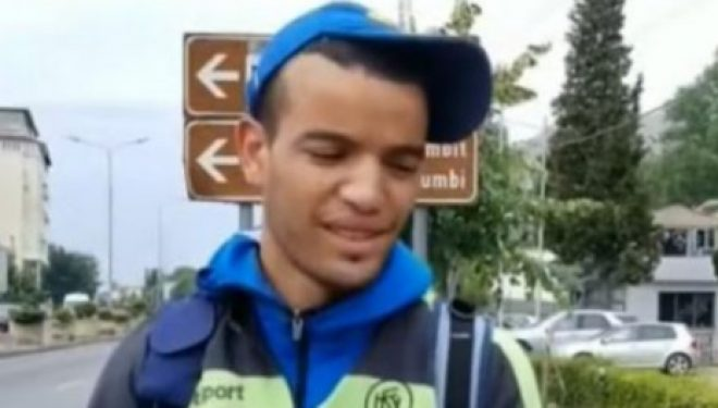 1 muaj që ecin në këmbë, Omarin nga Libia tashmë ka arritur në Shkodër