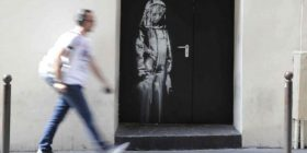 Vepra e vjedhur e Banksyt në Paris gjendet në Itali