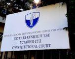 Gjykata Kushtetuese publikon vendimin e plotë për dekretin e presidentit Thaçi