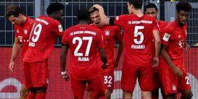 Bayern Munich e barazon rekordin e vet, pas fitores kundër Frankfurtit
