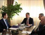 Kryeprokurori Lumezi priti në takim ministrin Selimi